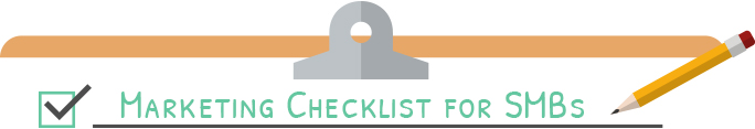 Marketing checklist for smbs graphic divider