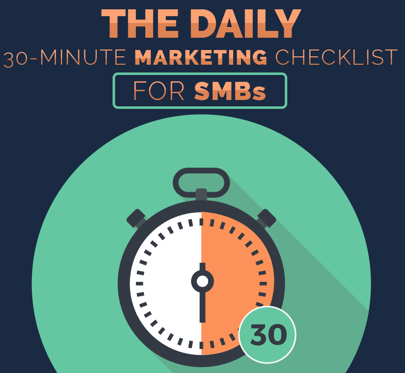 main the daily 30 minute marketing checklist for smbs