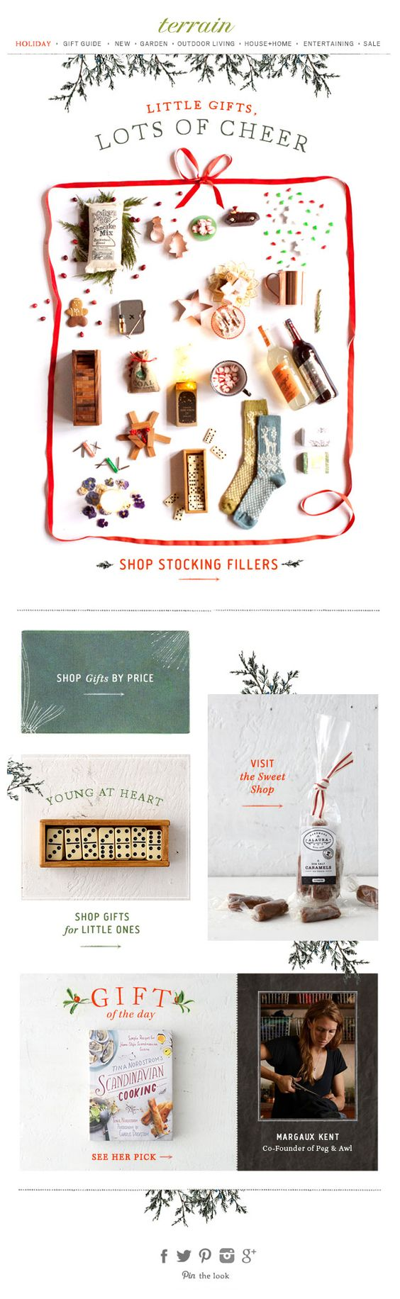 Design holiday emails 6 inspiring designs tips robly holiday emails kristyandbryce Gallery